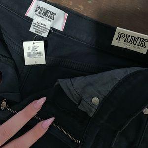 Victoria's Secret Pink black shorts size 8